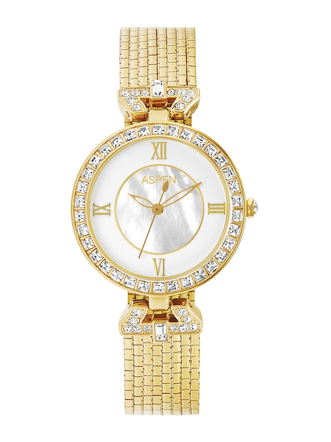 ASPEN Women White Dial Watch AP1839A