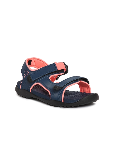 Adidas Women Navy Land Schaft Sports Sandals  available at myntra for Rs.1119