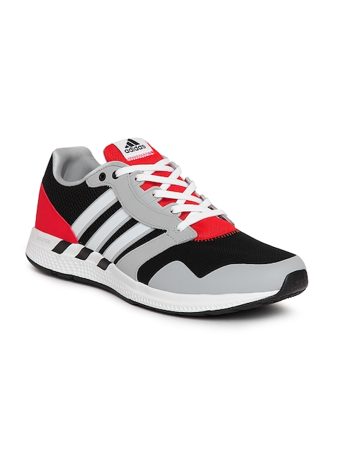 Adidas Men Grey & Black Equipment 16 Running Shoes