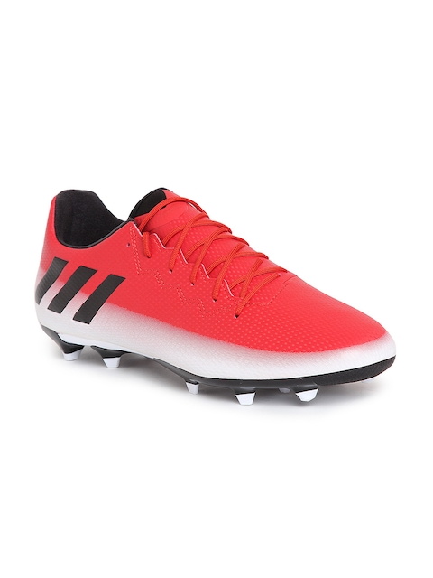 ADIDAS Men Red Messi 16.3 Firm Ground Football Shoes