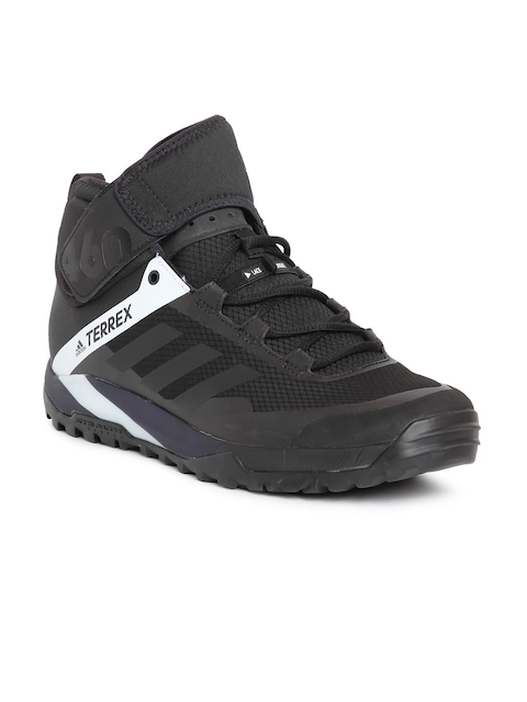 Adidas Men TERREX TRAIL CROSS PROTECT Black Outdoor Shoes  available at myntra for Rs.8999
