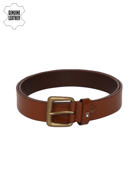Tommy Hilfiger Men Brown Genuine Leather Belt