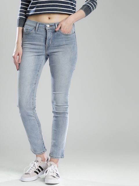 Levis Women Blue Shaping Slim Fit Jeans