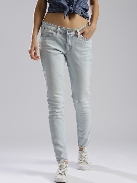 Levis Women Blue Skinny Fit Stretchable Jeans