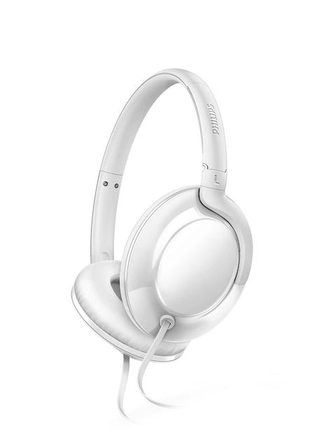 Philips White Over-Ear Headphones SHL4600WT