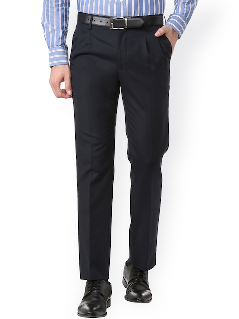 Allen Solly Black Formal Trousers