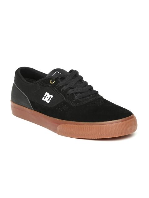 DC Men Black Sneakers