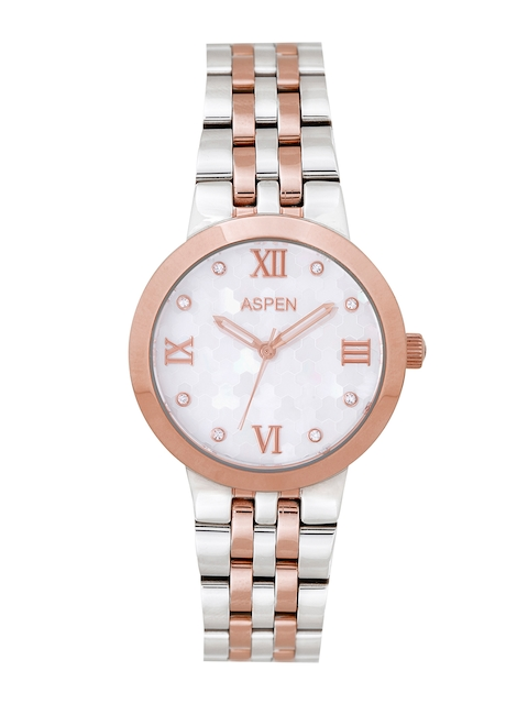 ASPEN Women White Dial Watch AP1997
