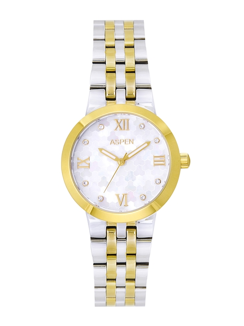 ASPEN Women White Dial Watch AP1998