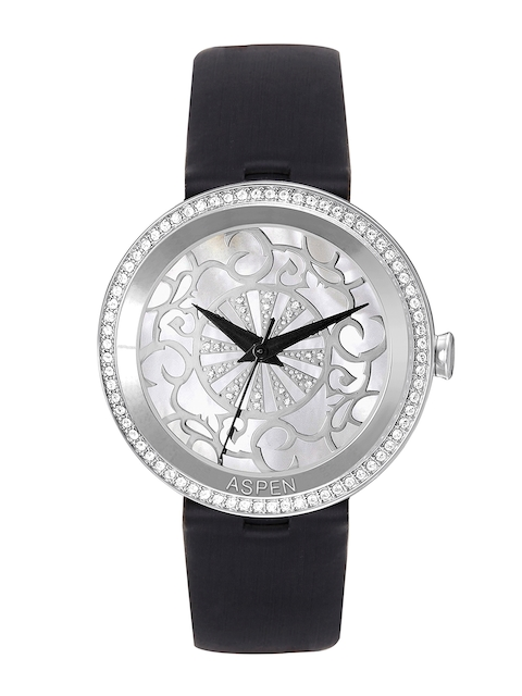 ASPEN Women Silver-Toned Dial Watch AP2014
