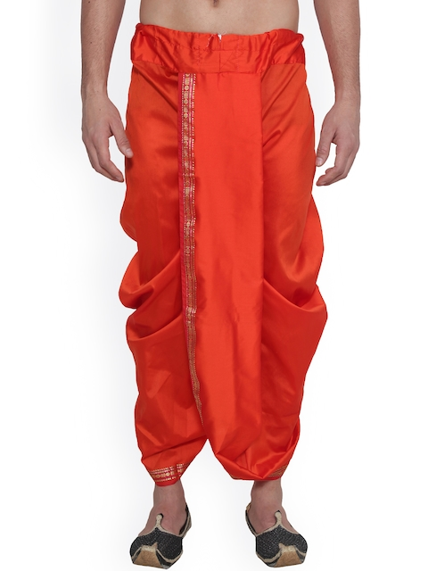 SOJANYA Orange Dhoti Pants