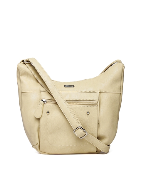 Lavie Beige Sling Bag  available at myntra for Rs.918