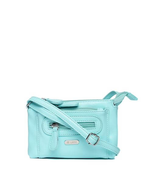 Lavie Turquoise Blue Sling Bag