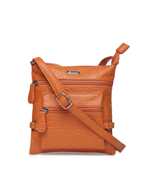 Lavie Orange Sling Bag  available at myntra for Rs.768