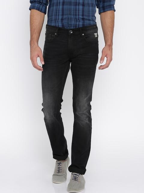 Pepe Jeans Men Black Slim Fit Low Rise Clean Look Jeans