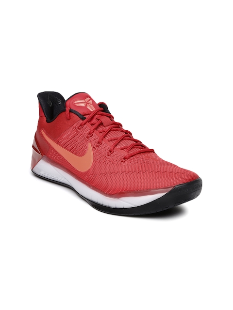 Nike Men Red Kobe A.D Basketball Shoes