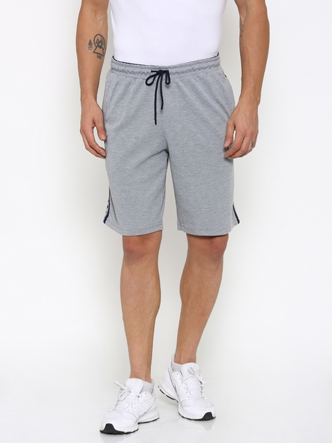 FILA Men Grey Sports Shorts