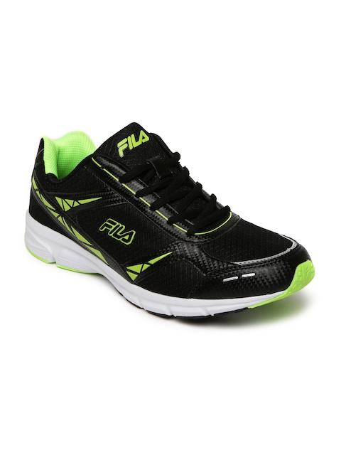 FILA Men Black LITE RUNNER PLUS 4 Running Shoes