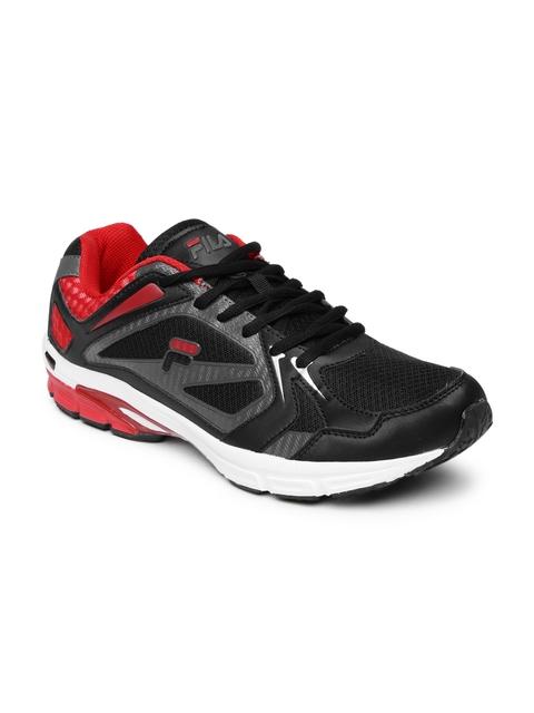 FILA Men Black ALTO RUNNER Running Shoes