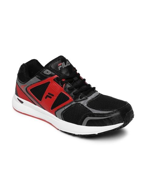 FILA Men Black & Red PRO SPEED Running Shoes