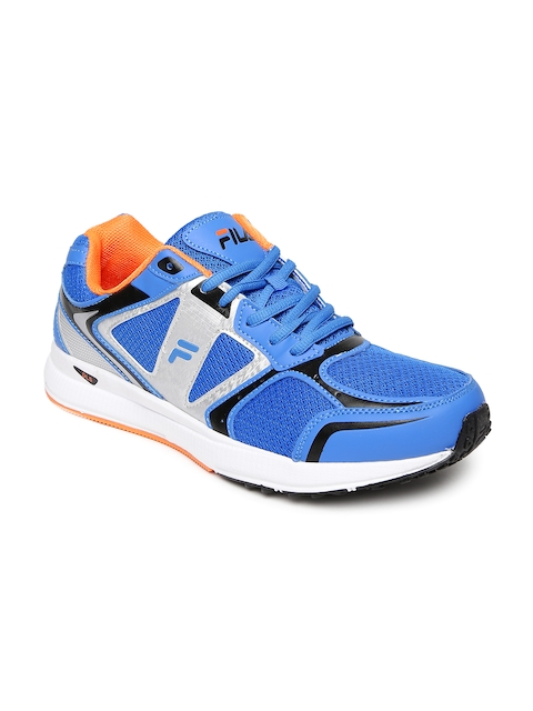 FILA Men Blue Running Shoes