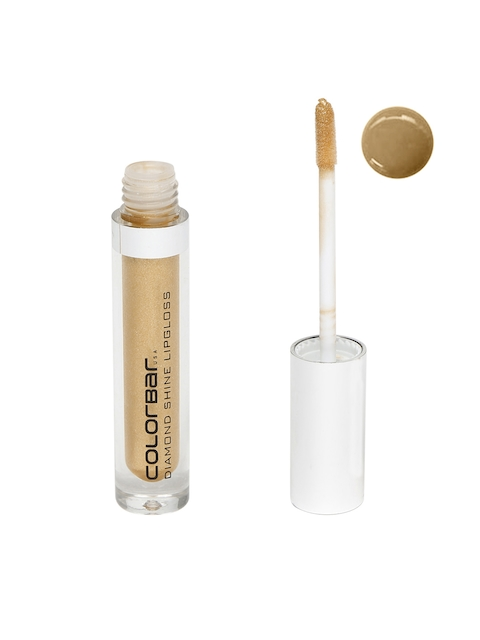 Colorbar Flossy Gold Diamond Shine Lip Gloss 012