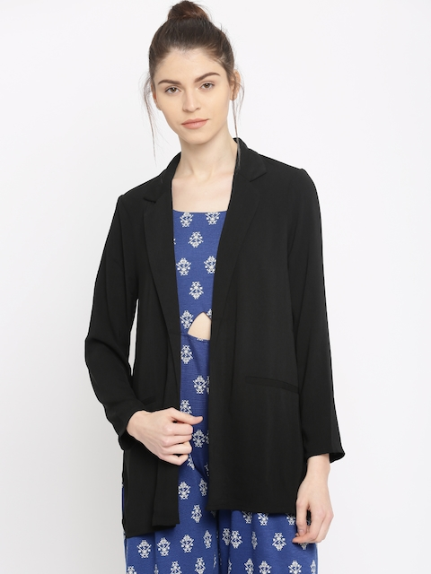 Vero Moda Black Open Front Jacket