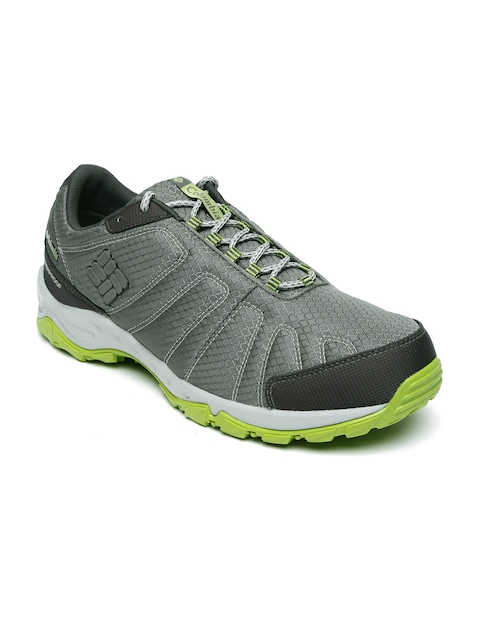 Columbia Men Grey FIRECAMP Walking Shoes