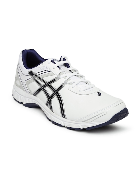 ASICS Men White Walking Shoes