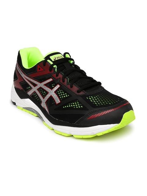 ASICS Men Black Running Shoes