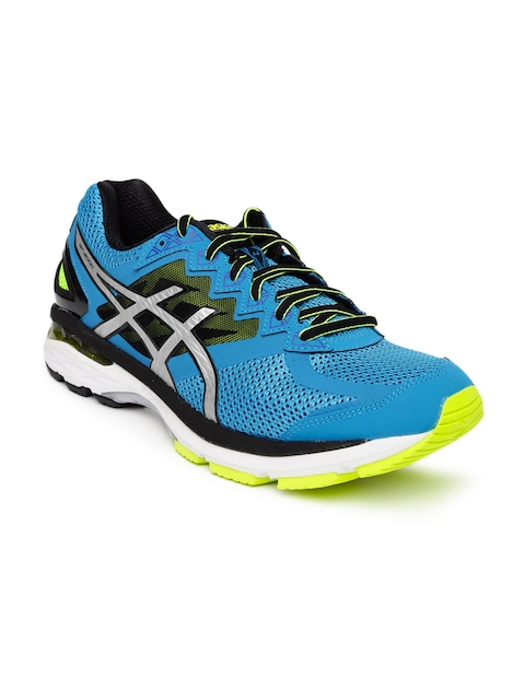 ASICS Men Blue Running Shoes