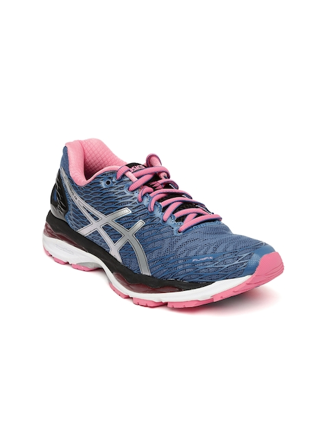 ASICS Women Blue Running Shoes