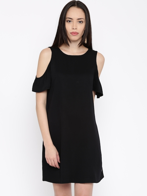 ONLY Black A-Line Dress
