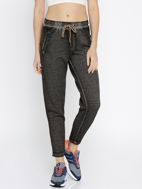 ONLY Women Black Faded Trousers