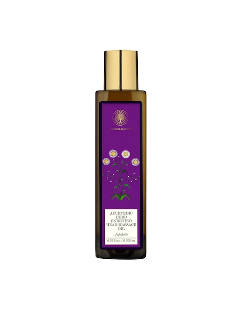 Forest Essentials Japapatti Cold-Pressed Head Massage Oil 200 ml