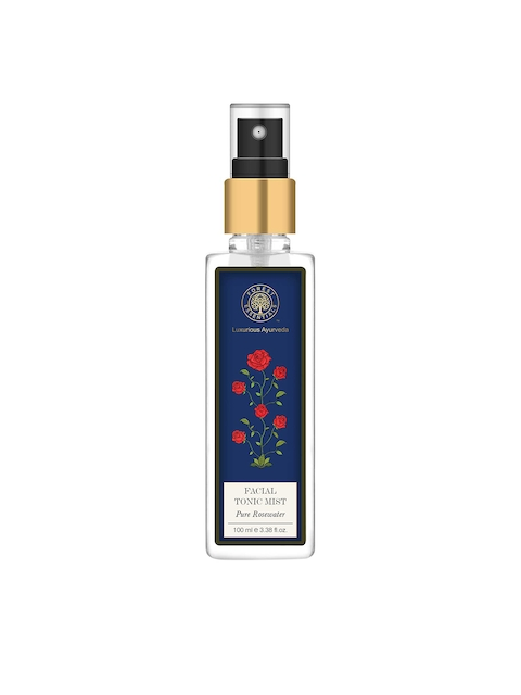 Forest Essentials Unisex Pure Rosewater Facial Tonic Mist