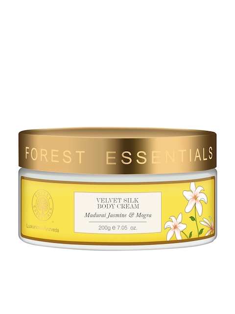 Forest Essentials Unisex Velvet Silk Madurai Jasmine & Mogra Body Cream