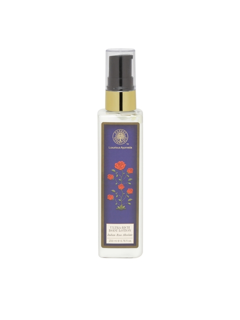 Forest Essentials Unisex Ultra-Rich Indian Rose Absolute Body Lotion