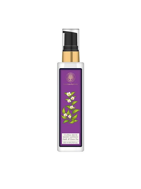 Forest Essentials Unisex Ultra-Rich Oudh & Green Tea Body Lotion