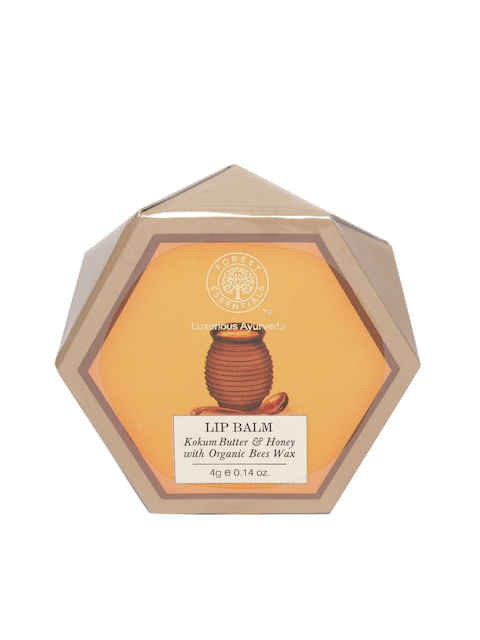 Forest Essentials Unisex Kokum Butter & Honey Lip Balm with Organic Bees Wax