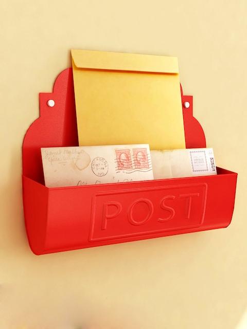 Home Sparkle Red Letter Holder