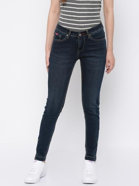 Lee Cooper Blue Jeggings Fit Jeans