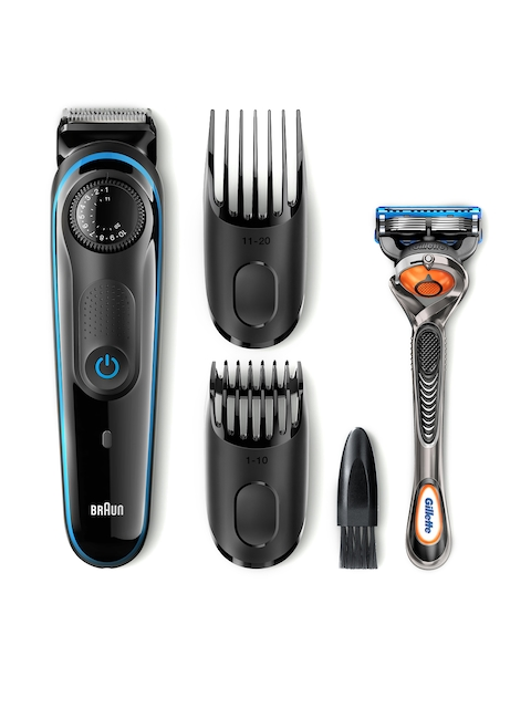 Braun Men Black Beard Trimmer BT3040