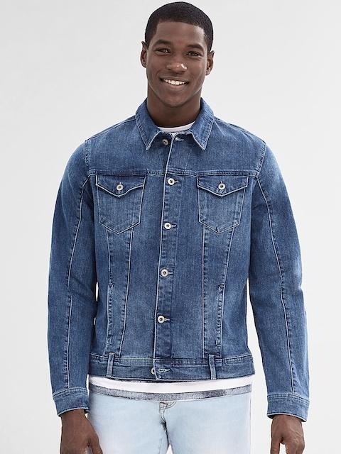 ESPRIT Blue Washed Denim Jacket