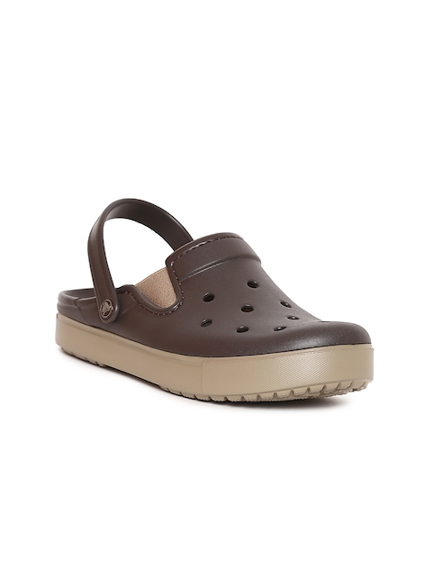 Crocs Unisex Coffee Brown CitiLane Clogs