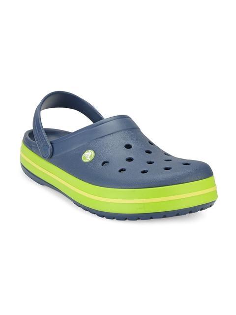 Crocs Men Navy Clogs