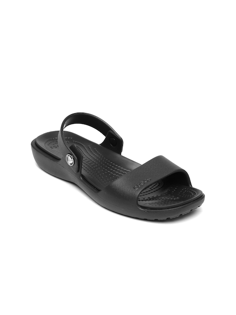 Crocs Women Black Solid Flats