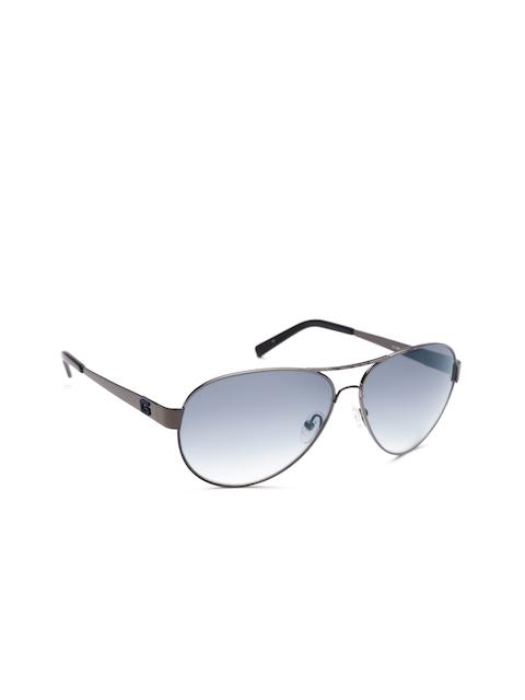 GUESS Unisex Oval Sunglasses S6824 08B