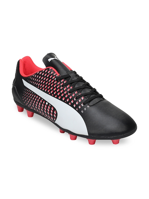 PUMA Men Black Adreno III AG Football Shoes