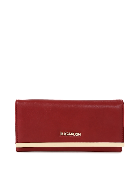 Sugarush Women Red Wallet